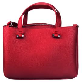 Handtas in rood