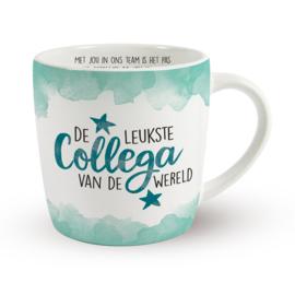Koffietas 'DE LEUKSTE COLLEGA VAN DE WERELD'