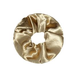 Scrunchie in goud 'Shiny'