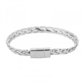 Armband in zilverkleur | Rock