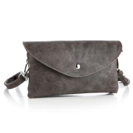 Handtas in bruin