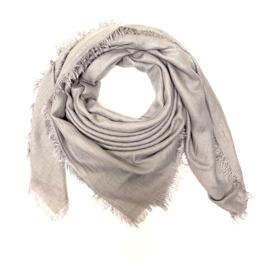 Sjaal in lichtgrijs