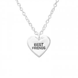 925 zilver halsketting | BEST FRIENDS