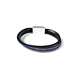 Sweet7 | Armband in blauw | Two