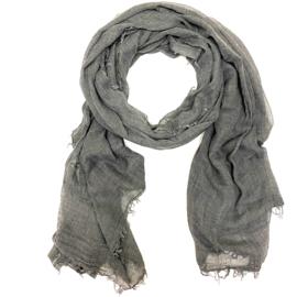 Sjaal in grijs