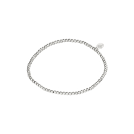 Stainless steel armbandje in zilver | Small Beads