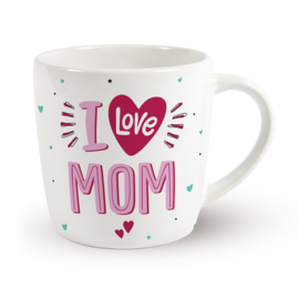 Koffietas 'I LOVE MOM'