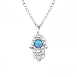 925 zilver halsketting | Khamsa