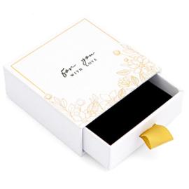 Sieraden (cadeau) doosje wit | For you with love