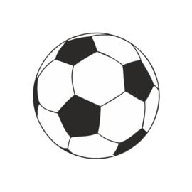 Sticker 'Voetbal' | 10 stuks