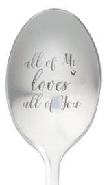 One message spoon | ALL OF ME LOVES ALL OF YOU
