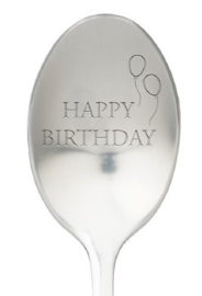 One message spoon | HAPPY BIRTHDAY