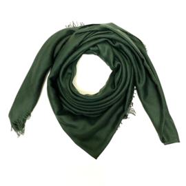 Sjaal in donkergroen