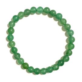 Edelsteenarmband 'Aventurijn Groen'