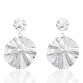 Oorbellen in zilver 'Trendy'