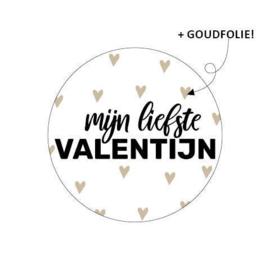 Sticker 'Mijn liefste Valentijn' | 10 stuks