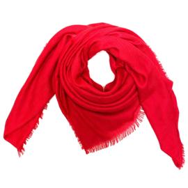 Sjaal in rood