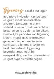 Herenarmband 'Zwarte Onyx-Tijgeroog'