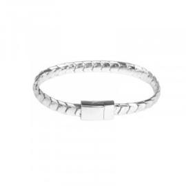 Armband in zilverkleur | Snake