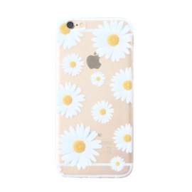 GSM-hoesje iPhone 6 'White Flowers'