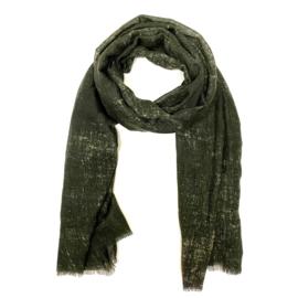 Sjaal in kaki