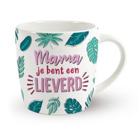 Koffietas 'MAMA JE BENT EEN LIEVERD'