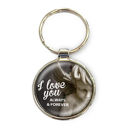 Sleutelhanger 'I love you always & forever'