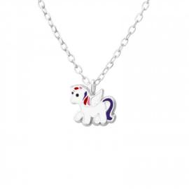 925 zilver halsketting | Eénhoorn