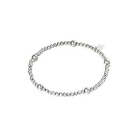 Stainless steel armbandje in zilver | Beady
