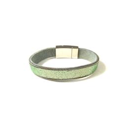 Sweet7 | Armband in groen