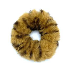 Scrunchie in dierprint 'Fluffy'