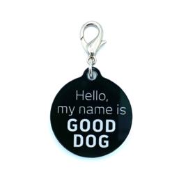 Halsbandhanger | HELLO, MY NAME IS GOOD DOG