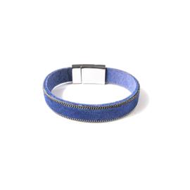 Sweet7 | Armband in blauw | One
