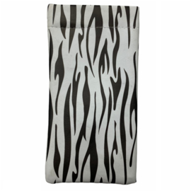 Brillenhoesje met zebraprint