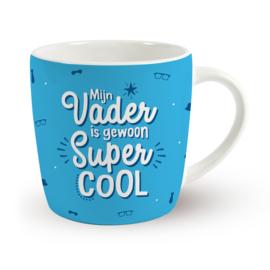 Koffietas 'MIJN VADER IS GEWOON SUPER COOL'