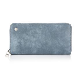 Portemonnee in jeansblauw