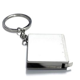 Miniatuur sleutelhanger 'Rolmeter'