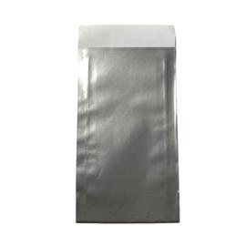 Cadeauzakje in zilver | 7x13cm | 5 stuks
