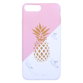 GSM-hoesje iPhone 6/7/8 Plus 'Pineapple & Marble'