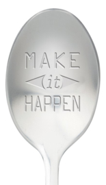 One message spoon | MAKE IT HAPPEN