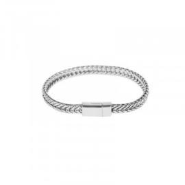 Armband in zilverkleur | Wild