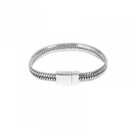 Armband in zilverkleur | Lady
