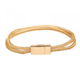 Armband in goudkleur | Double