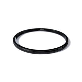 Fiell | Stainless steel bangle in zwart | Glitter Small