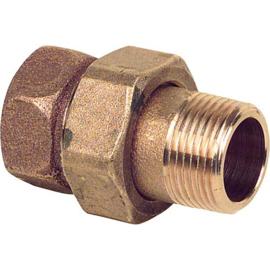 bronze 3-delig koppeling bi x bu - recht