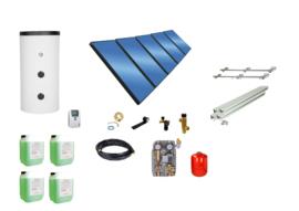 Doe het zelf - 1000L boiler - 5 paneel 12.5  m2