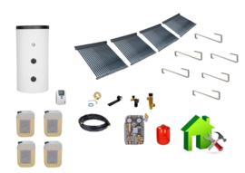 1000L boiler - 4 x 30 heatpipes  9.12 m2