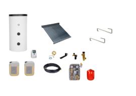 Doe het zelf - 200L boiler - 30 heatpipes  2.28 m2