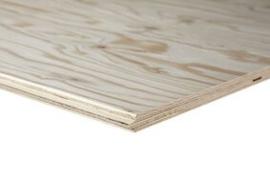 Underlayment topfloor plaat 18mm (hout)