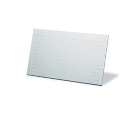 Calciumsilicaatplaat - inbouw plaat - 125x125cm - 30mm